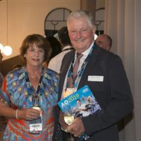 Beyond The Tour Launch -Geoff & Eleanor Pollard