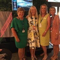 Beyond The Tour Launch - Helen Muir, Kerryn Pratt, Mandy Morgan, Dianne Evers
